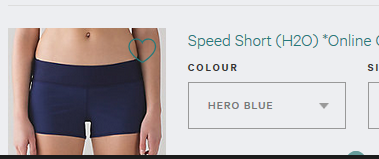 Lululemon speed short