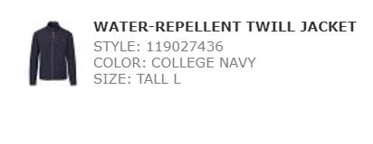 Ralph  water repellent twill jacket